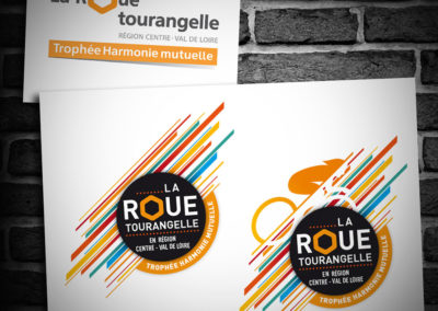 Relooking du logo de la Roue Tourangelle