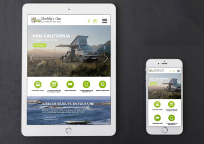 Développement site web Buddy's Van